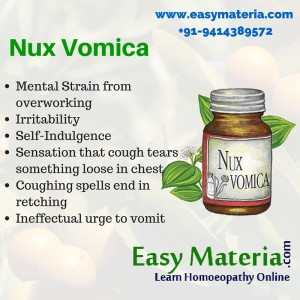 Nux Vomica-Learn At Easy Materia